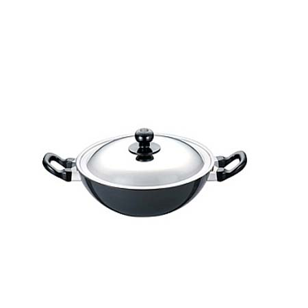 Futura Non Stick Deep Fry Pan 2 5 L With Stainless Steel Lid